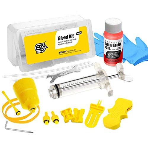 1 Set Mountain Bike Bicycle Hydraulic Disc Brake Bleed Needle Syringe Funnel Kit